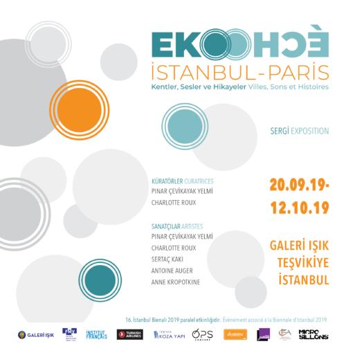 Eko-Écho Istanbul-Paris, Villes, Sons et Histoires